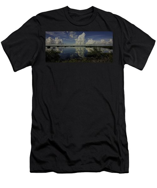 Clouds And Reflections Men's T-Shirt (Athletic Fit)