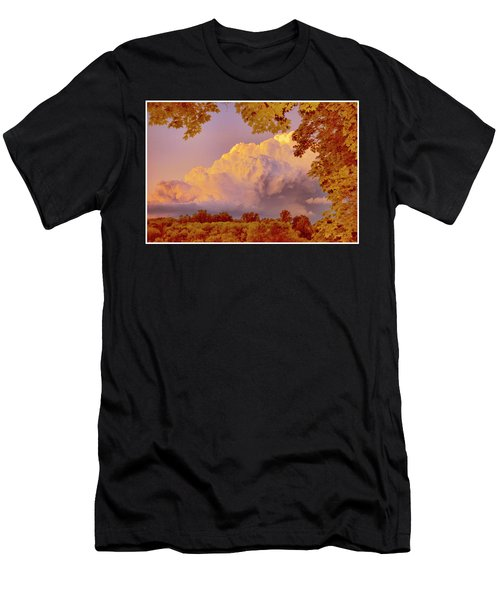 Clouds At Sunset, Southeastern Pennsylvania Men's T-Shirt (Athletic Fit)