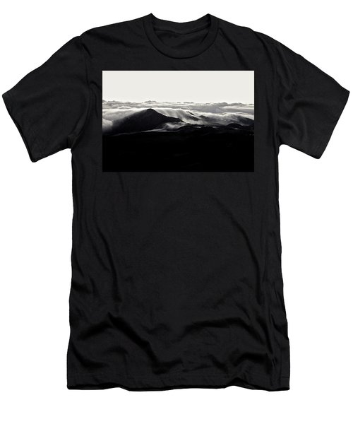 Men's T-Shirt (Athletic Fit) featuring the photograph Clouds by Lucian Capellaro