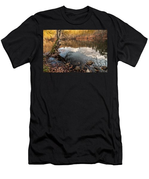 Clouds On The Lake Men's T-Shirt (Athletic Fit)