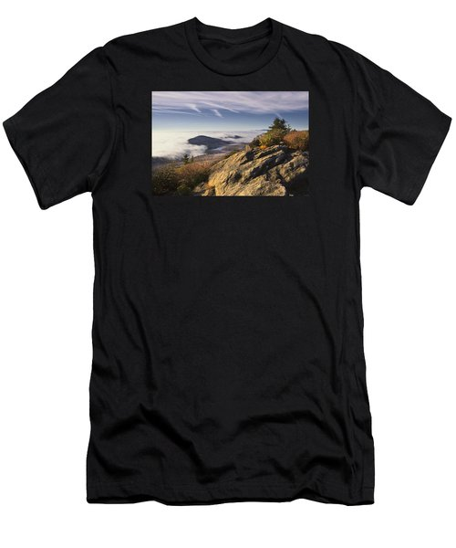 Clouds Over Grandmother Mountain Men's T-Shirt (Athletic Fit)