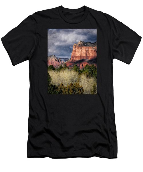 Clouds Over Sedona Men's T-Shirt (Athletic Fit)