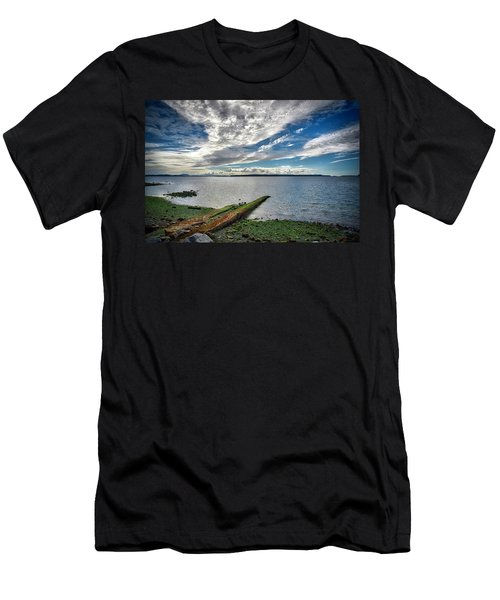 Clouds Over The Bay Men's T-Shirt (Athletic Fit)