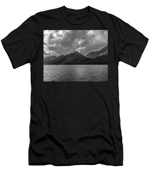 Clouds Over Loch Lochy, Scotland Men's T-Shirt (Athletic Fit)
