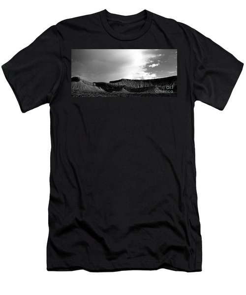 Clouds  Over The Mesa Men's T-Shirt (Athletic Fit)