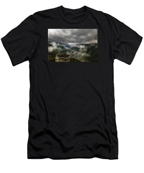 Clouds Rising At Lindy Point Men's T-Shirt (Slim Fit)