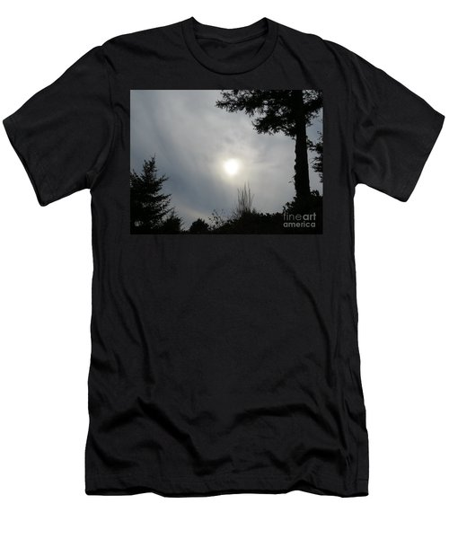 Cloudy Sun Men's T-Shirt (Athletic Fit)