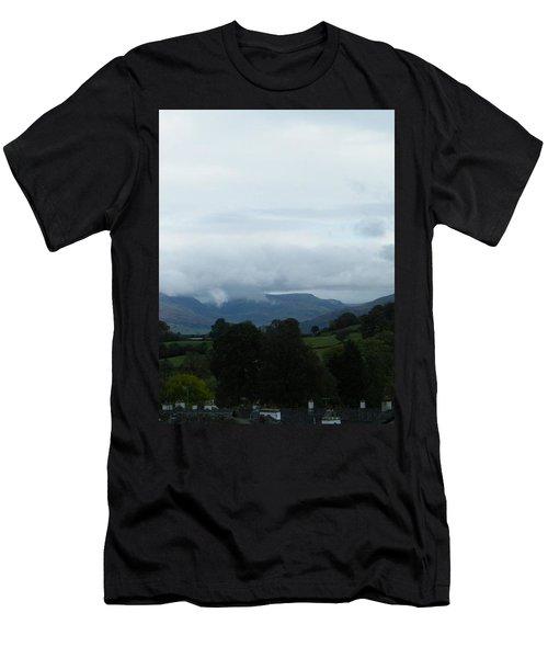Cloudy View Men's T-Shirt (Athletic Fit)