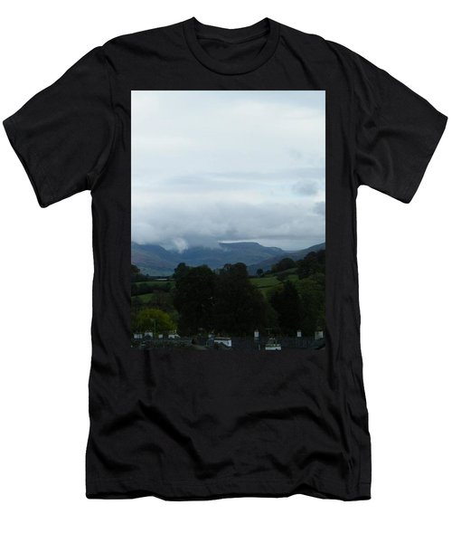 Cloudy View Men's T-Shirt (Athletic Fit)