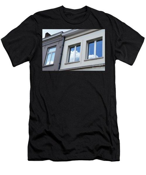 Cloudy Windows Men's T-Shirt (Athletic Fit)