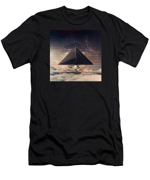Cloudy Men's T-Shirt (Athletic Fit)