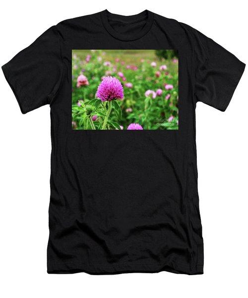 Clover Field Men's T-Shirt (Athletic Fit)