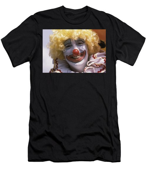 Men's T-Shirt (Athletic Fit) featuring the photograph Clown-1 by Donald Paczynski