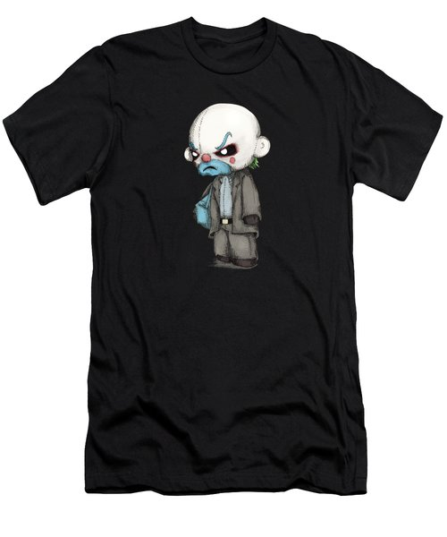 Clown Bank Robber Plush Men's T-Shirt (Athletic Fit)