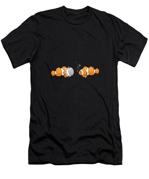Clown Fish Men's T-Shirt (Athletic Fit)