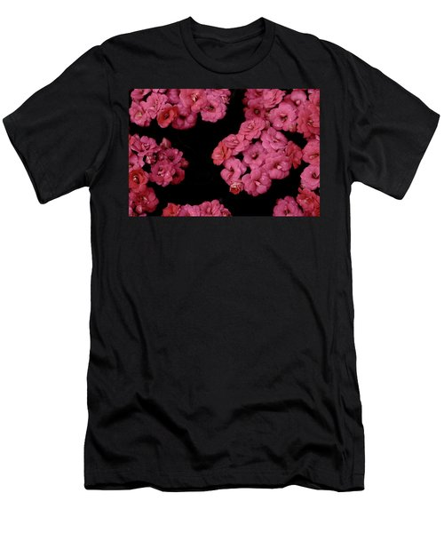 Clusters Of Pink Men's T-Shirt (Athletic Fit)