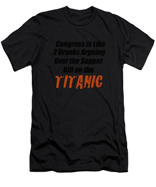 Congress Is Like 2003 Men's T-Shirt (Athletic Fit)