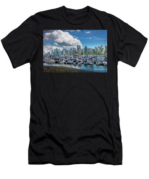 Coal Harbor Boats Men's T-Shirt (Athletic Fit)