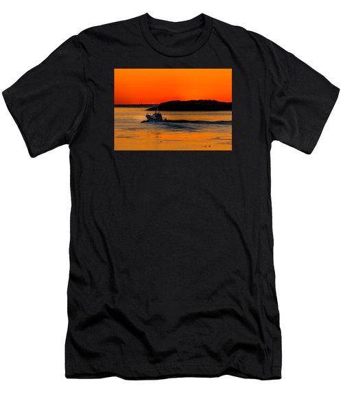 Coast Guard  Men's T-Shirt (Athletic Fit)
