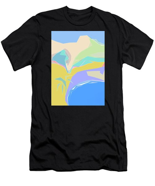 Coast Of Azure Men's T-Shirt (Athletic Fit)