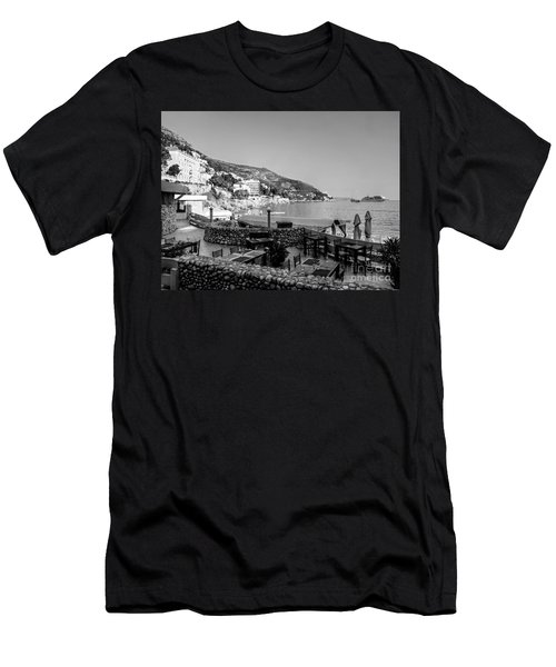 Coast Of Dubrovnik Men's T-Shirt (Athletic Fit)