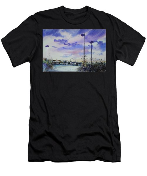 Coastal Beach Highway Men's T-Shirt (Athletic Fit)