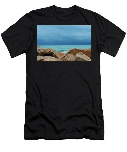 Coastal Blues Men's T-Shirt (Athletic Fit)