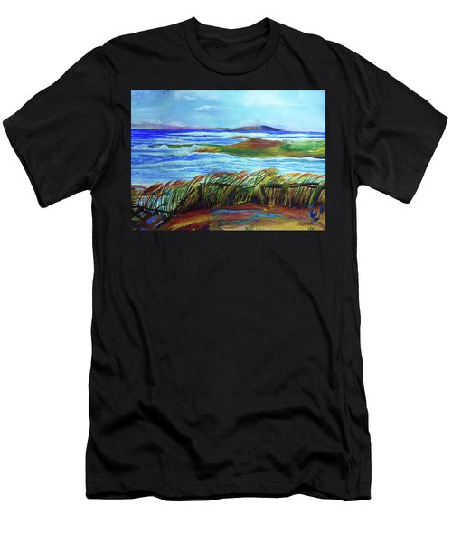 Coastal Winds Men's T-Shirt (Athletic Fit)
