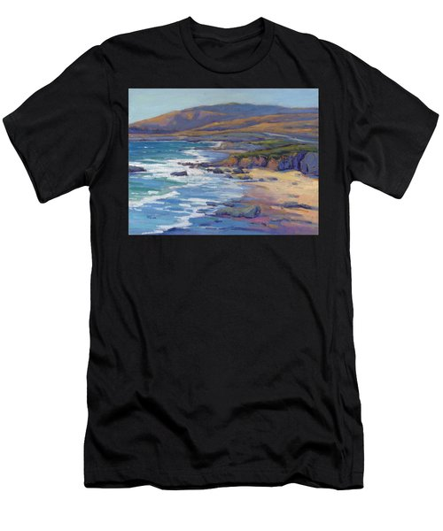 Coastal Cruising 8 / San Simeon Men's T-Shirt (Athletic Fit)