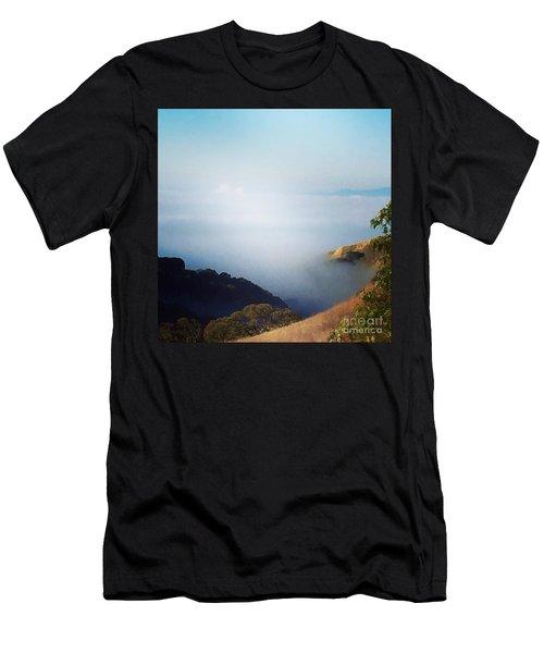 Coastal Fog Men's T-Shirt (Athletic Fit)