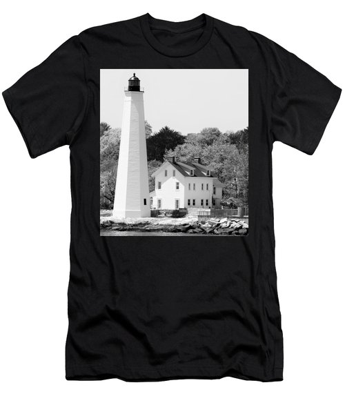 Coastal Lighthouse Men's T-Shirt (Athletic Fit)