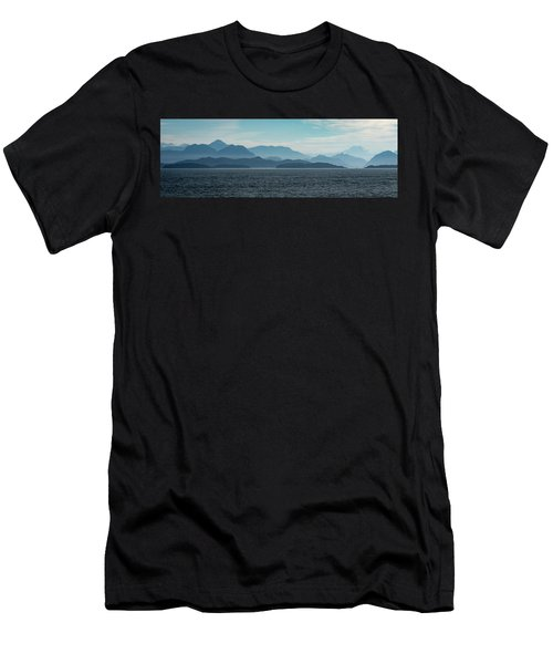Coastal Mountains Men's T-Shirt (Athletic Fit)