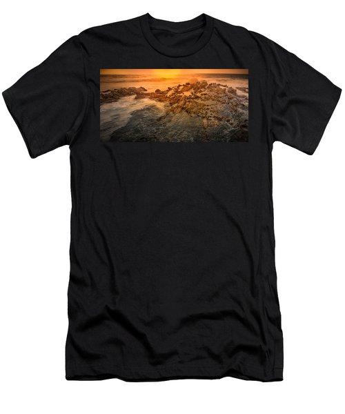 Coastal Rocks Men's T-Shirt (Athletic Fit)