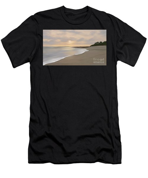 Coastal Sunrise Men's T-Shirt (Athletic Fit)