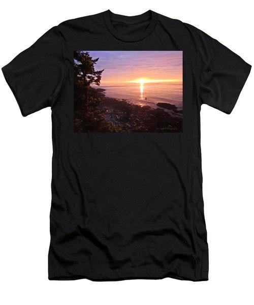 Coastal Sunrise Men's T-Shirt (Athletic Fit)