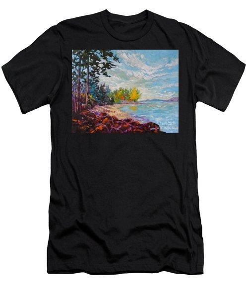 Coastal View Men's T-Shirt (Athletic Fit)