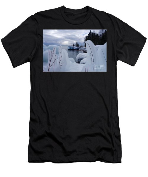 Coated With Ice Men's T-Shirt (Athletic Fit)