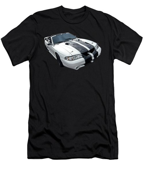 Cobra Mustang Convertible Men's T-Shirt (Slim Fit) by Gill Billington