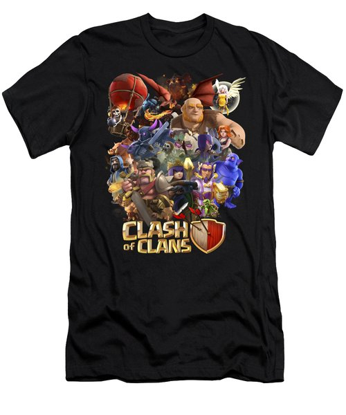 Coc Troops Men's T-Shirt (Athletic Fit)