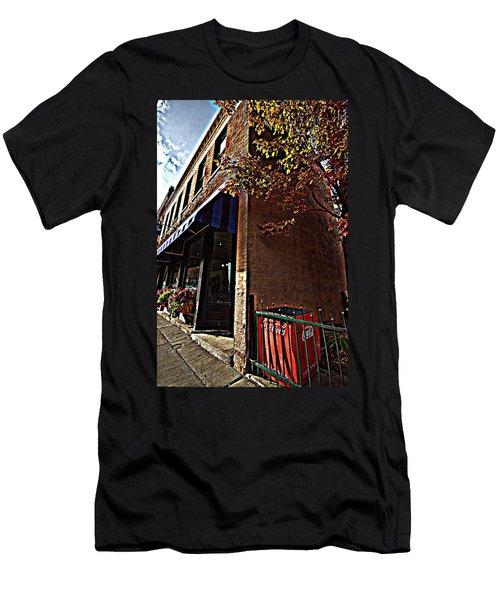 Coca Cola Cooler Men's T-Shirt (Athletic Fit)