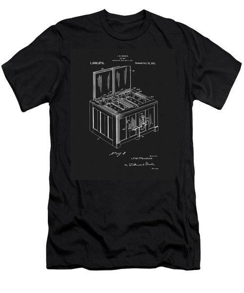 Coca Cola Ice Box Patent Men's T-Shirt (Athletic Fit)