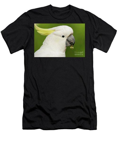 Cockatoo Close Up Men's T-Shirt (Athletic Fit)