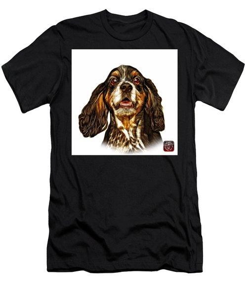 Cocker Spaniel Pop Art - 8249 - Wb Men's T-Shirt (Athletic Fit)