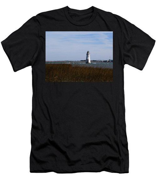 Cockspur Lighthouse Men's T-Shirt (Athletic Fit)