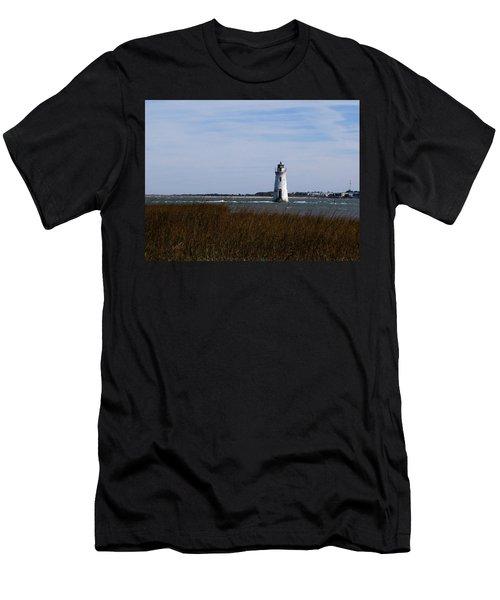 Cockspur Lighthouse Men's T-Shirt (Athletic Fit)