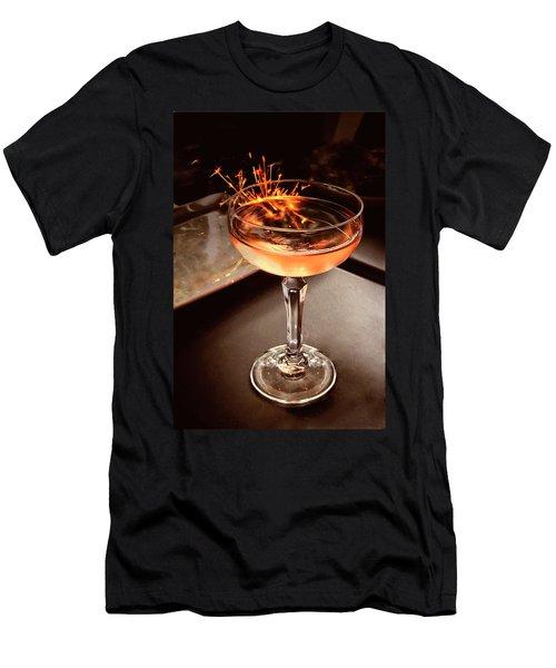 Cocktail Dazzle Men's T-Shirt (Athletic Fit)