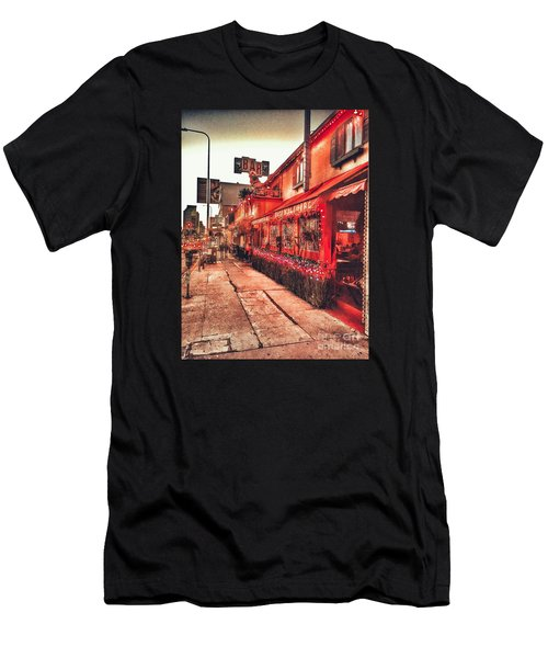 West Los Angeles Cocktail Row Men's T-Shirt (Athletic Fit)