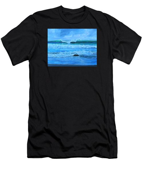 Cocoa Beach Surf Men's T-Shirt (Athletic Fit)