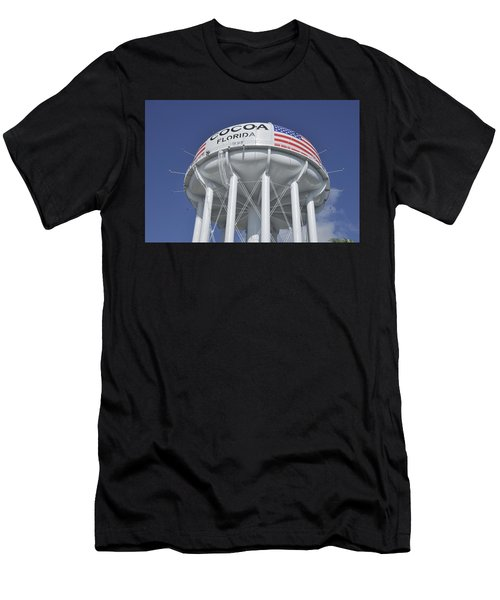 Cocoa Florida Water Tower Men's T-Shirt (Athletic Fit)