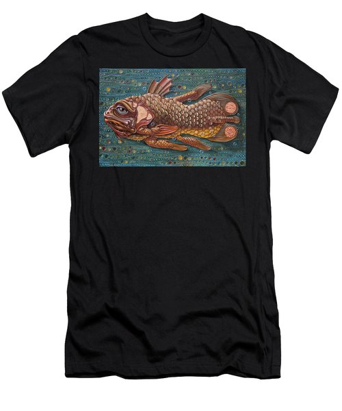 Coelacanth Men's T-Shirt (Athletic Fit)
